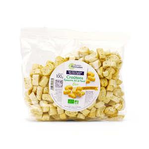 Mas Trigo - Organic Croûtons for Fish Soup with Garlic Parsley and Spelt Flour