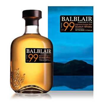 Balblair distillery - Balbair Single Malt Scotch Whisky 1999 - 46%