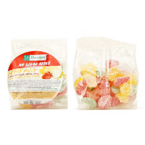 Damhert - Free Sugar Gomfruit Sweets with Maltitol