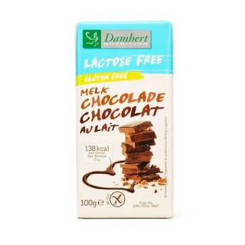 Damhert - Chocolat au lait sans lactose et sans gluten
