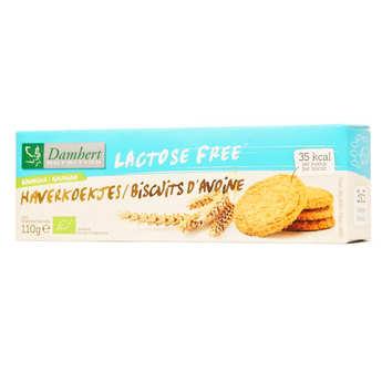 Damhert - Biscuits à l'avoine bio sans lactose