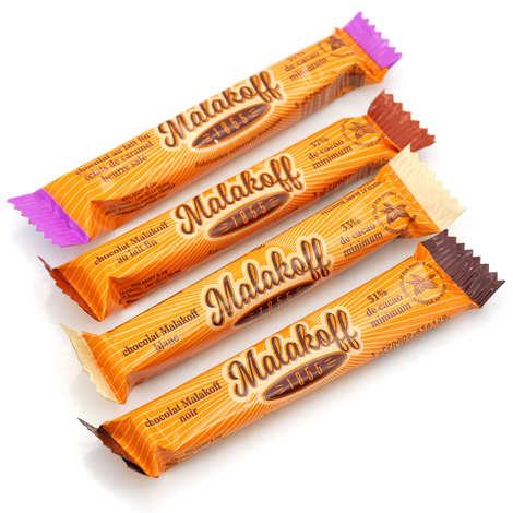 Malakoff & Cie - Lot découverte de 4 barres de chocolat Malakoff