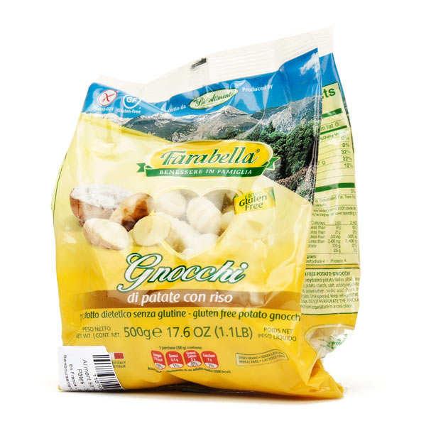 Potatoes and rice gnocchi - gluten free
