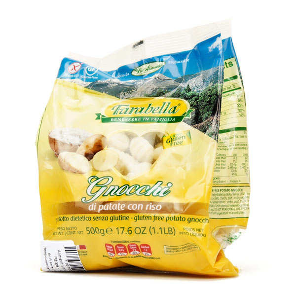 Gnocchi frais de pommes de terre et riz sans gluten