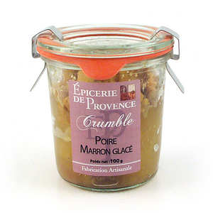 Epicerie de Provence - Pear and Chestnut Crumble