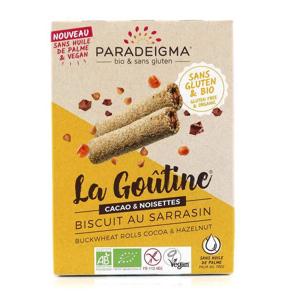 Goûtines chocolat noisettes bio sans gluten