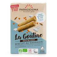 Paradeigma - Organic coconut biscuit Gluten free