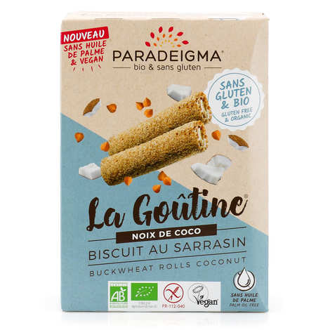 Paradeigma - Goûtines noix de coco bio sans gluten