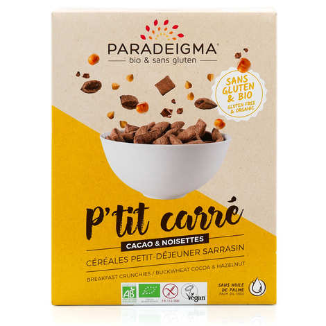 Paradeigma - Organic Crunchy chocolate cereal Gluten free