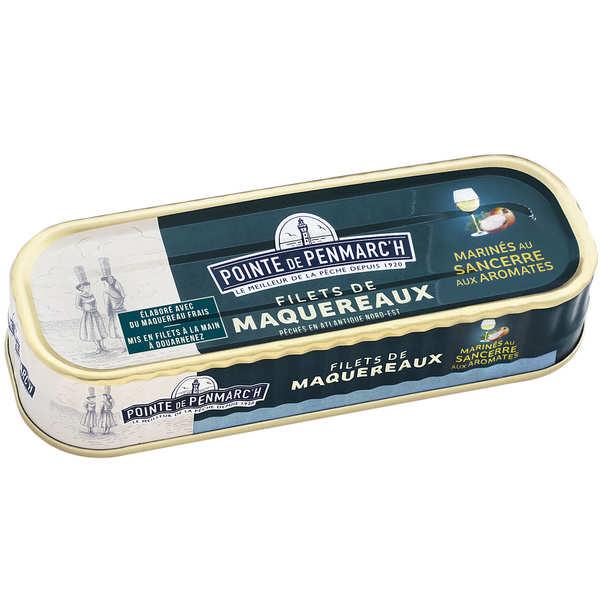 Aromatics and Sancerre wine soused mackerel