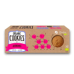 Zealia - Organic cranberries Cookies Gluten Free