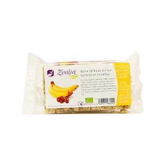 Zealia - Organic Hazelnuts and Banana Cereals bar Gluten Free