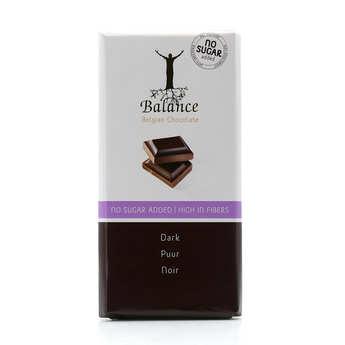 Balance - Chocolat noir sans sucre au maltitol