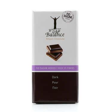 Chocolat noir sans sucre au maltitol