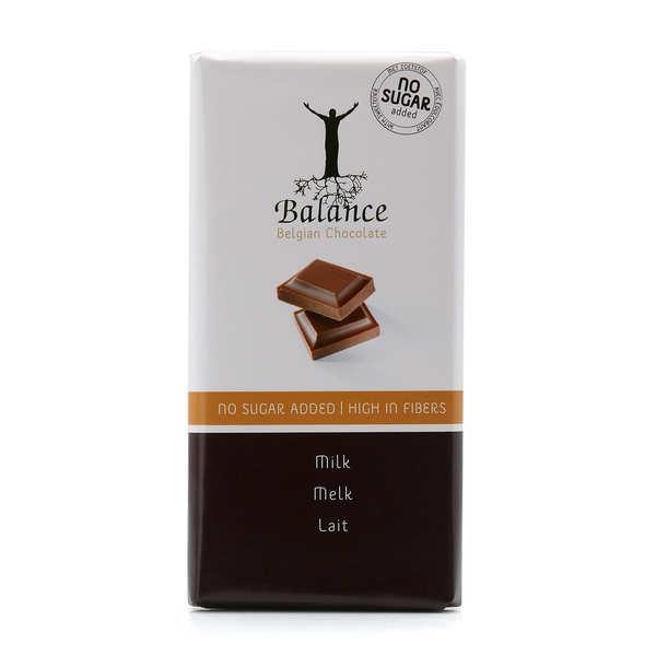 Chocolat au lait sans sucre au maltitol - tablette 100g