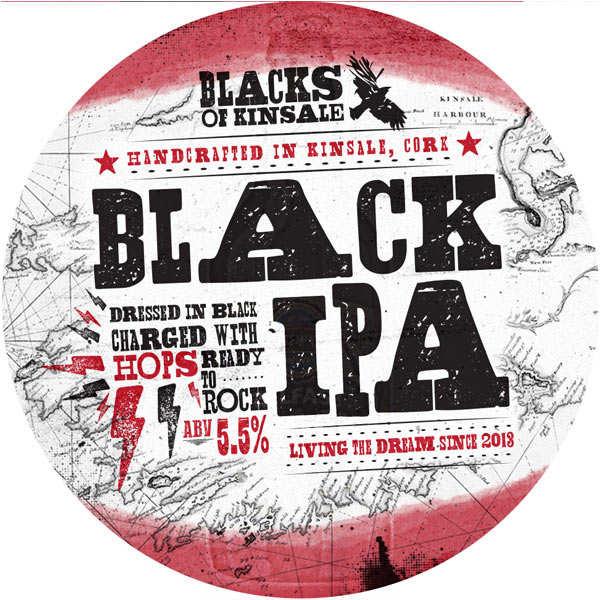 Blacks black IPA - Irish Beer - 5%