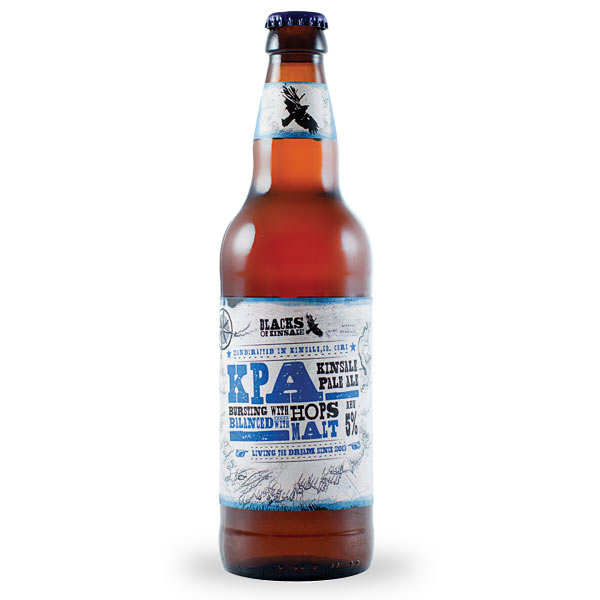 Blacks Kinsale KPA Pale Ale - Bière Irlandaise - 5%