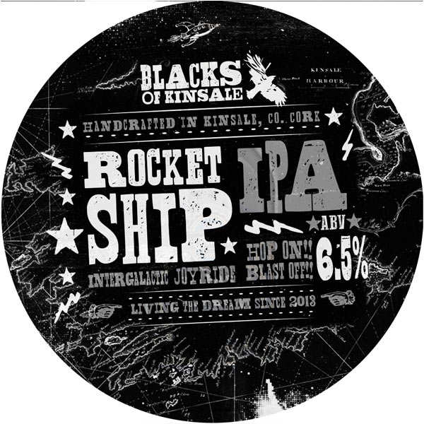 Blacks Rocketship - Bière Irlandaise - 6,5%