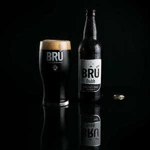 Brasserie Bru - Bru Dubh Stout - Bière Irlandaise - 4,2%