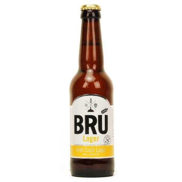 Bru Lager sans gluten - Bière Irlandaise - 4,3%
