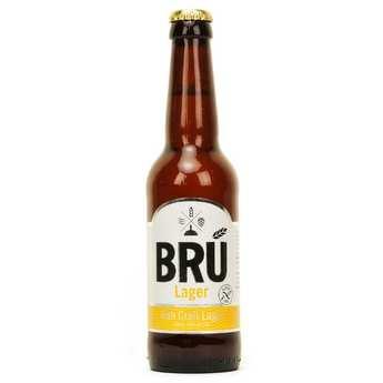 Brasserie Bru - Bru Lager sans gluten - Bière Irlandaise - 4,3%
