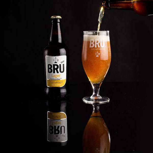 Bru Lager - Irish Beer - 4,2%