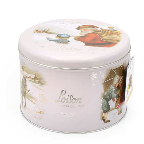 Dolciara A. Loison - Classic Panettone in metal tin
