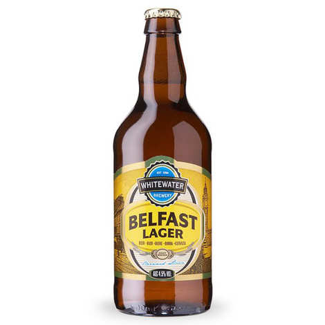 Brasserie Whitewater - Bière Belfast Lager - Bière Irlandaise - 4,5%