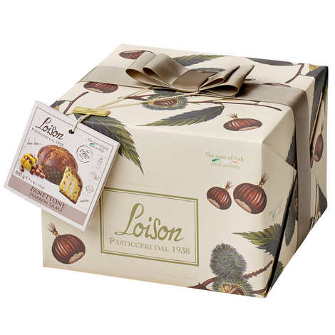 Dolciara A. Loison - Panettone with Candied Chestnut