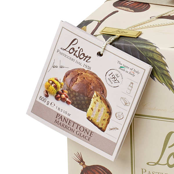 Panettone with Candied Chestnut