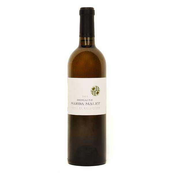 Organic Sarda Malet White Wine Côtes du Roussillon - 15%