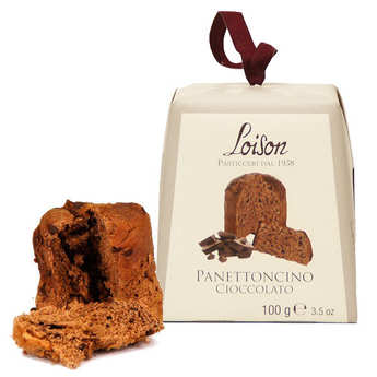 Dolciara A. Loison - Mini Panettone au chocolat classique