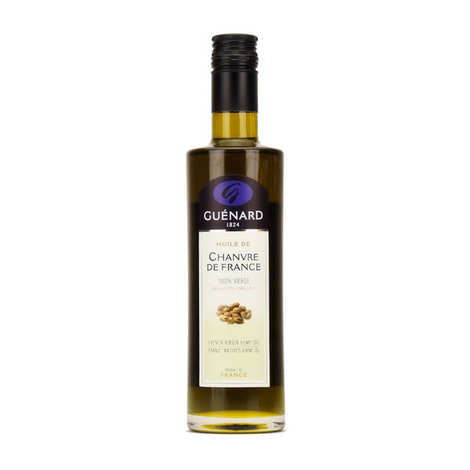 Les Huiles Guénard - French Hemp Virgin Oil