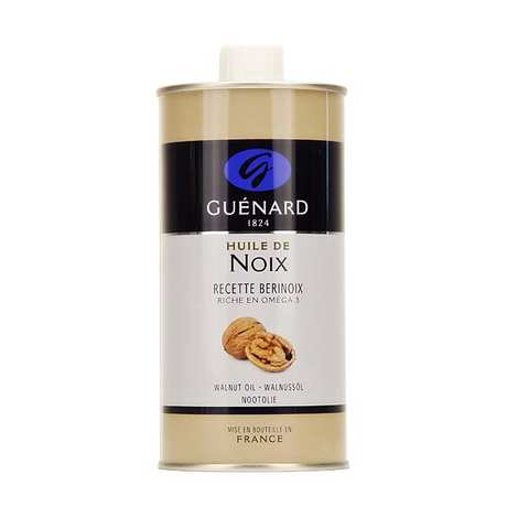 Les Huiles Guénard - Bérinoix Walnut Oil