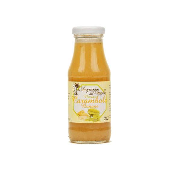 Nectar de banane carambole de Mayotte
