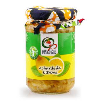Ouangani production - Achard de citron de Mayotte
