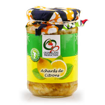 Ouangani production - Lemon Relish from Mayotte