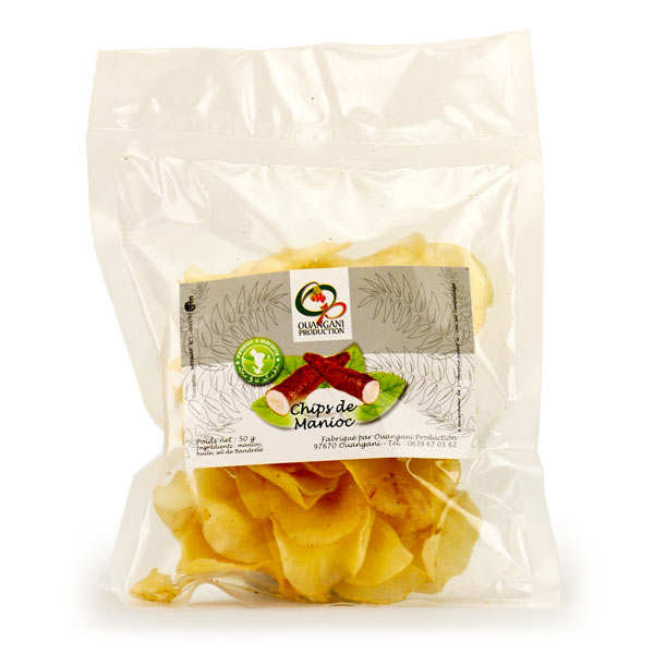Cassava Chips from Mayotte
