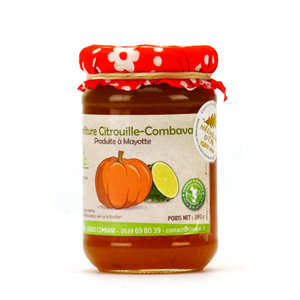 Coopac - Pumpkin and Combava Jam from Mayotte