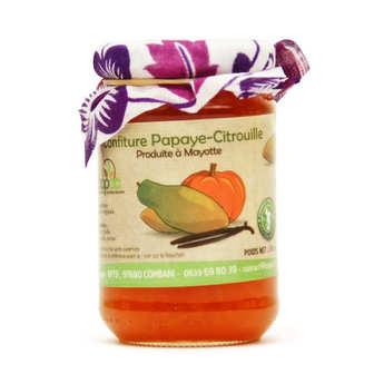 Coopac - Papaya, Pumpkin and Vanilla Jam from Mayotte