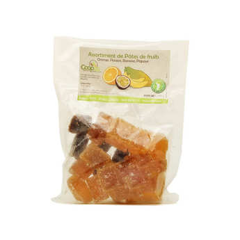Coopac - Orange, Passion, Banana and Papaya Fruit Jellies from Mayotte