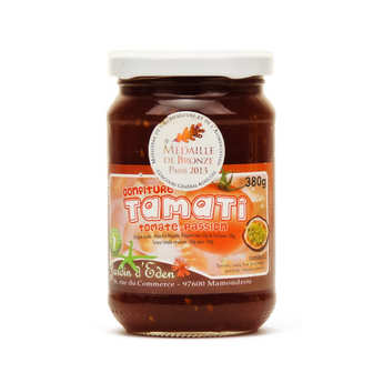 Jardin d'Eden - Tomato and Passion Jam from Mayotte