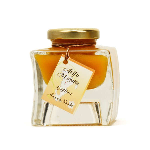 Pineapple and Vanilla Jam from Mayotte