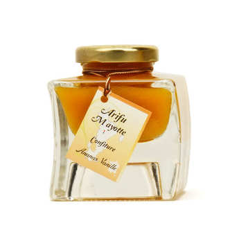 May d'huiles - Pineapple and Vanilla Jam from Mayotte