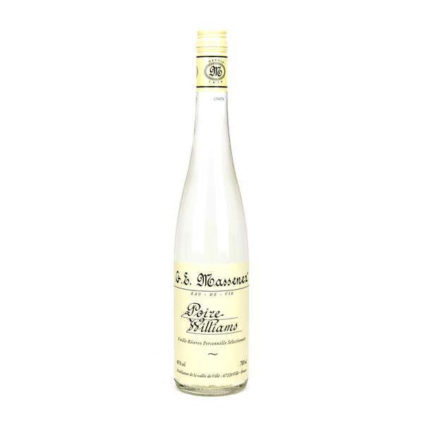 Eau de vie de poire Williams - 43%