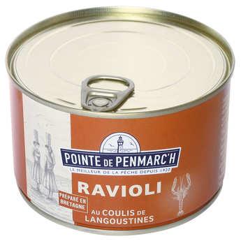 La pointe de Penmarc'h - Raviolis de thon au coulis de langoustine