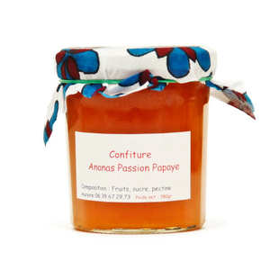 Malavounie Mahoraise - Pineapple, Papaya and Passion Jam from Mayotte