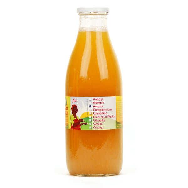 Jus d'ananas de Mayotte