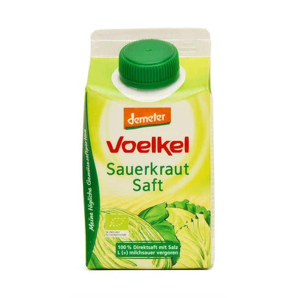 Jus de choucroute lacto ferment bio voelkel gmbh - Jus de choucroute bienfaits ...
