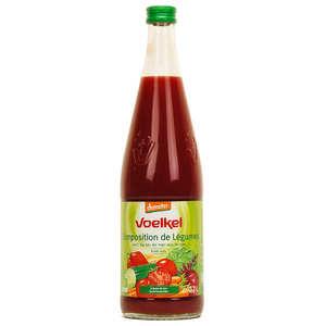 Voelkel GmbH - Jus de composition de légumes lacto fermentés bio